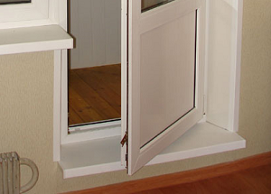 Балкон дверь порог..